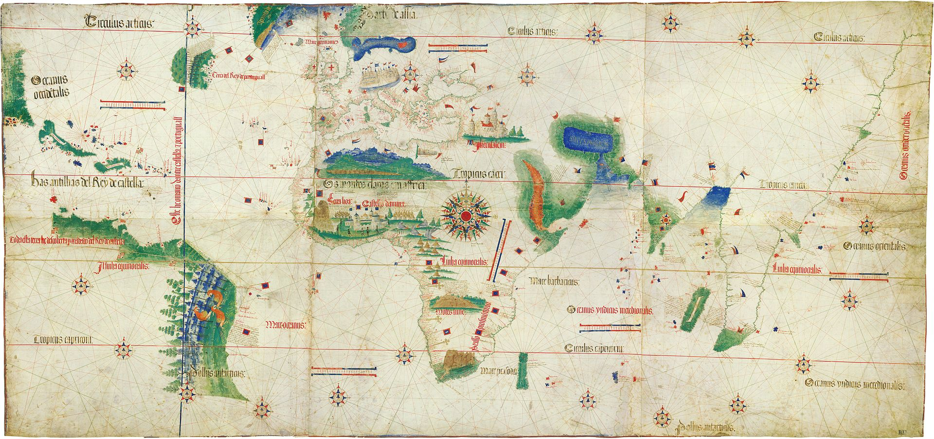 Age of Discovery begins, a period of European global exploration
